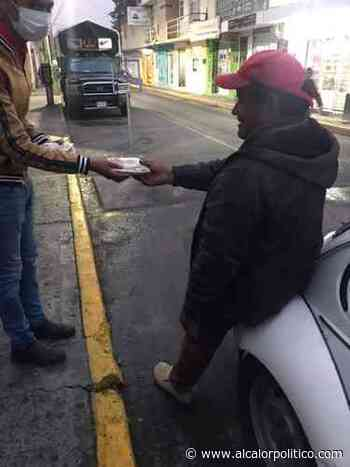 "Con ""Kilómetro 100"" apoyan con comida a familias vulnerables de Perote - alcalorpolitico"