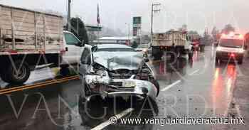 Siguiente 15 lesionados tras accidente en la carretera Xalapa-Perote - Vanguardia de Veracruz