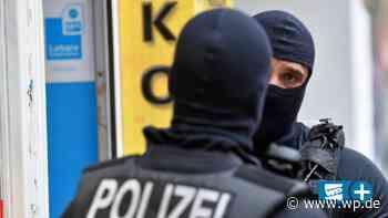 Maskierte Polizisten stürmen Objekte in Meschede und Bestwig - WP News
