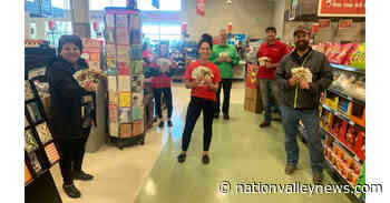 Kin Club of Russell and volunteers deliverers donate tips Embrun Food Bank - Nation Valley News