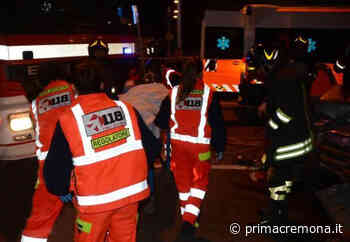 Auto fuori strada a Vailate, 40enne in ospedale SIRENE DI NOTTE - Giornale di Cremona
