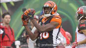 A.J. Green ready to work with Joe Burrow whenever that's possible