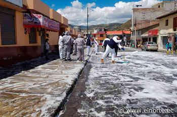 En Pimampiro sus habitantes se unieron a la gran minga de limpieza - Diario EL NORTE - Diario El Norte