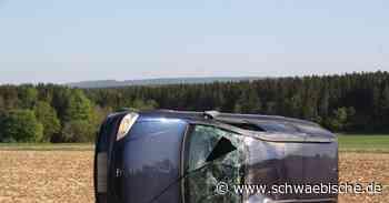 Auto überschlägt sich bei Neresheim - Schwäbische