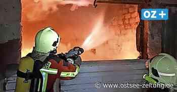 In Sassnitz auf Rügen geht ein Feuerteufel um - Ostsee Zeitung