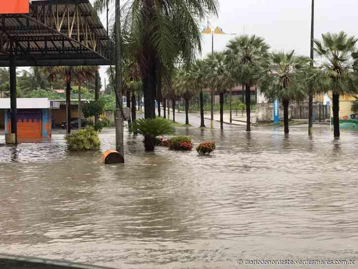 Maior chuva do ano em Aquiraz causa transtornos a moradores - Diário do Nordeste