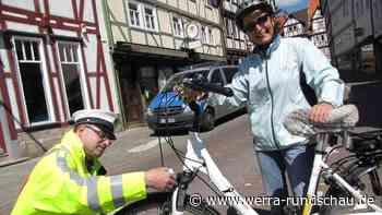 Niemand musste blechen: Polizei kontrollierte Radfahrer in Bad Sooden-Allendorf | Bad Sooden-Allendorf - werra-rundschau.de
