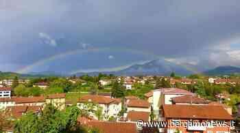 Arcobaleno del mercoledì mattina: da Ponteranica - Bergamo News - BergamoNews.it