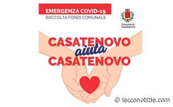 Lanciata la raccolta fondi Casatenovo aiuta Casatenovo: il grazie del Comune a chi aiuta - Lecco Notizie - Lecco Notizie