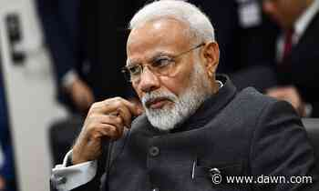 Modi govt request to test Ganges for virus cure declined - DAWN.com
