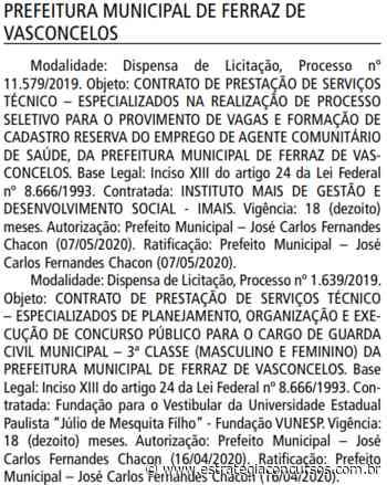 Concurso Prefeitura Ferraz de Vasconcelos: BANCA DEFINIDA! - Estratégia Concursos