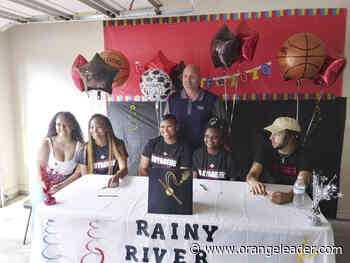 Four WO-S hoopsters sign with Rainy River - Orange Leader - Orange Leader