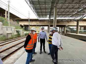 """Obras na estação Francisco Morato da Linha 7-Rubi entram na """"fase final"""" - Via Trolebus"""