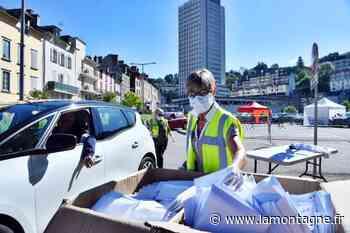 Corrèze : Tulle en mode drive pour distribuer en deux jours 75.000 masques chirurgicaux - La Montagne