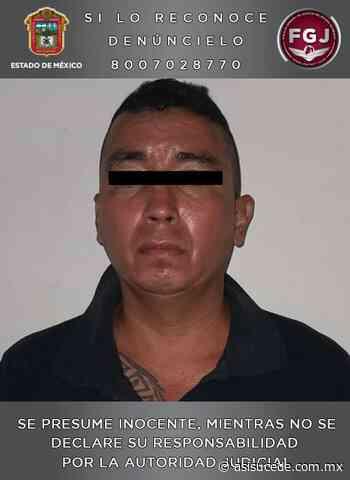 Aprehenden en Zumpango a un hombre relacionado en secuestro - Noticiario Así Sucede