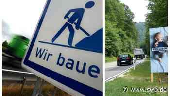 L382 zwischen Pfullingen und Genkingen: Bauarbeiten bis 29. Mai - Stuhlsteige voll gesperrt - SWP