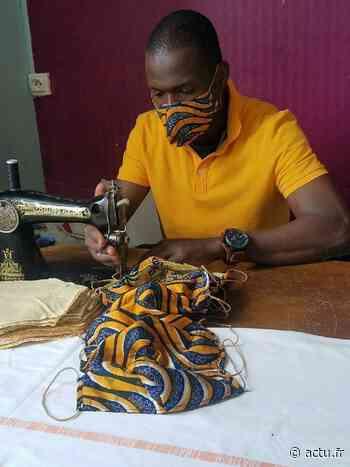 Yvelines. Exilé, Abdou confectionne des masques à Triel-sur-Seine - actu.fr