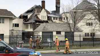 Fire at Dorval's Historic Académie Sainte-Anne building subject of police investigation - CBC.ca