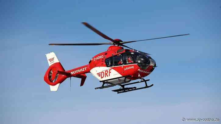 Langenselbold A66: Unfall - Mann aus Auto geschläudert - Hubschrauber im Einsatz | Hessen - op-online.de