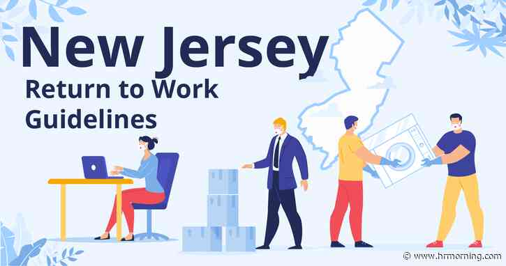 New Jersey Return to Work Guidelines