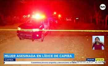 Nacionales Trabajador asesina a su jefa en una finca en El Lídice de Capira - TVN Panamá