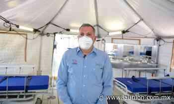 Se instala unidad móvil en el hospital general de Jojutla - Unión de Morelos