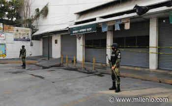 Clausuran comercios no esenciales por covid-19 en Jojutla, Morelos - Milenio