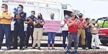 Rescatistas dan apoyo a hospitales en Jojutla - La Jornada Morelos