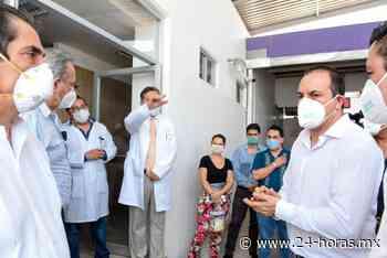 Por Covid-19, instalan unidad móvil en el Hospital General de Jojutla, Morelos - 24 HORAS