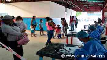 Migrantes que tienen a Barinas como destino cumplen cuarentena en Guasdualito - El Universal (Venezuela)