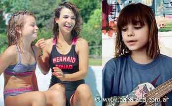 Muna, la hija de Agustina Cherri y Gastón Pauls, renovó su look y cantó una canción - Revista Paparazzi
