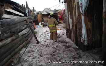 Granizo deja daños menores en viviendas de Ciudad Hidalgo - El Sol de Zamora