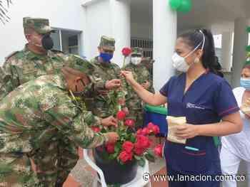 Homenaje a las madres del Hospital San Antonio de Padua • La Nación - La Nación.com.co