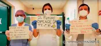 Chiude il reparto Covid Medicina Rossa dell'Ospedale di Vaio a Fidenza: i medici e infermieri ballano! VIDEO - - ParmaDaily.it