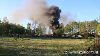 Brand in schuur Onstwedde is onder controle (update) - RTV Noord