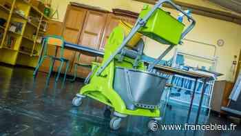 Coronavirus : la désinfection des écoles à Luxeuil-les-Bains - France Bleu