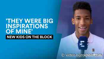 'Federer, Bolt, Ali' - Auger Aliassime on sporting idols and much more - Eurosport.com