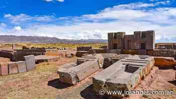 Hallan objetos ceremoniales en Tiahuanaco - Los Andes (Mendoza)