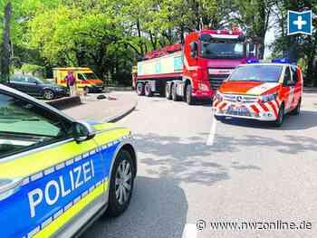 Unfall In Rastede: Sattelzug erfasst Radfahrer – Lebensgefährlich verletzt - Nordwest-Zeitung