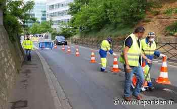 A Massy et Paris-Saclay, des pistes cyclables sortent de terre pour le déconfinement - Le Parisien