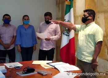 Toma protesta el nuevo regidor primero de Sayula de Alemán - Imagen del Golfo