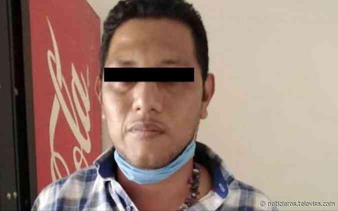 Detienen a tesorero de Sayula, Veracruz, con un arma y dinero para combatir coronavirus - Noticieros Televisa