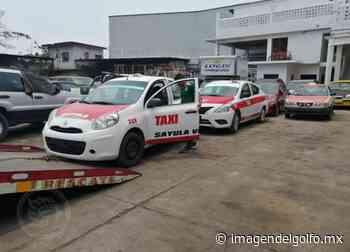"""Asegura Transporte Público """"taxis libres"""" en Sayula de Alemán - Imagen del Golfo"""