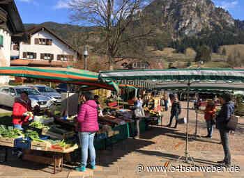 So wirkt sich die Corona-Krise auf Wochenmarkt in Bad Hindelang aus - Kempten / Oberallgäu - B4B Schwaben