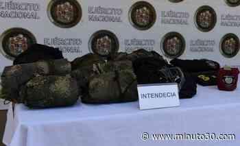 FOTO: Encuentran depósito ilegal con elementos alusivos a 'Los Caparros' en Caucasia, Bajo Cauca antioqueño - Minuto30.com