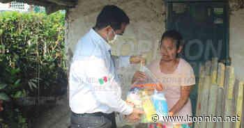 Entregan apoyo alimentario a más familias de Naranjos - La Opinión