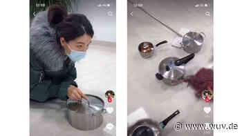 Quarantäne-Humor in China: Socken-Sightseeing und Topf-Curling | W&V - W&V - Werben & Verkaufen