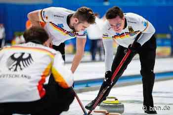 Marc Muskatewitz auf Heimaturlaub statt bei der Curling-WM in Glasgow - BNN - Badische Neueste Nachrichten