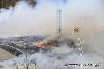 Großbrand in Tettau: Ursache für Feuer bleibt ungeklärt - Neue Presse Coburg