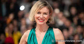 The 2 looks of Naomi Watts on the red carpet (how sexy or romanesque?) - Matzav Review